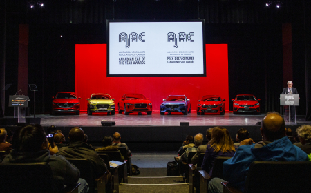 TORONTO, ON - FEBRUARY 14: AJAC Car and Utility Vehicle of the Year Awards at the 2019 Canadian International Auto Show at the Metro Toronto Convention Centre on February 14, 2019 in Toronto, Ontario, Canada. (Photo by Lucas Oleniuk)