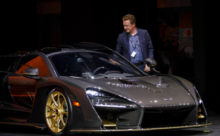 TORONTO, ON - FEBRUARY 13: Luxury & Supercar Forum at the 2019 Canadian International Auto Show at the Metro Toronto Convention Centre on February 13, 2019 in Toronto, Ontario, Canada. (Photo by Lucas Oleniuk)